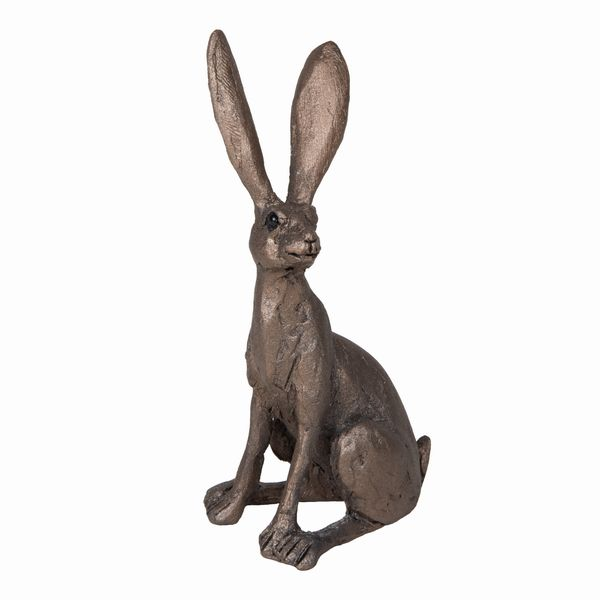 Jaz Hare sitting